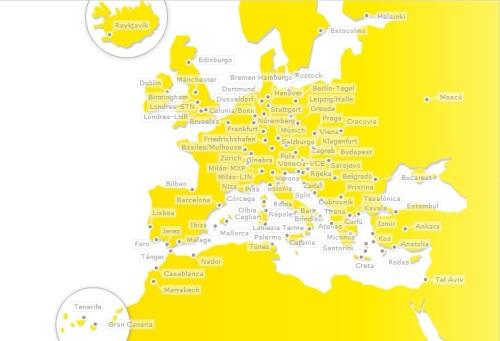 mapa de ruta germanwings