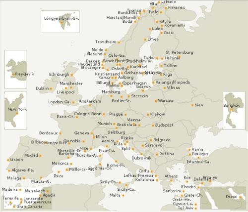 mapa de ruta noregiwan