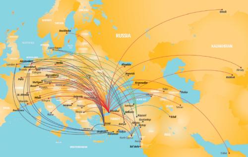 PEGASUS ROUTE MAP