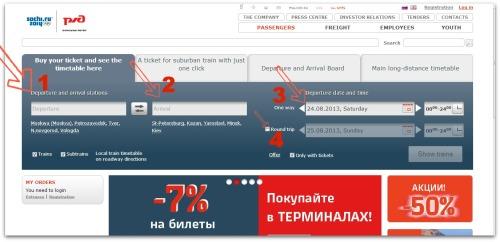 train rusia