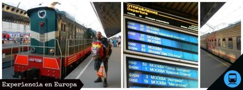 trenes RUSIA