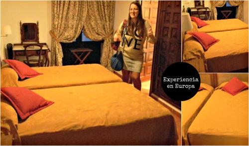 habitación monasterio de piedra