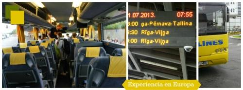 europa en bus
