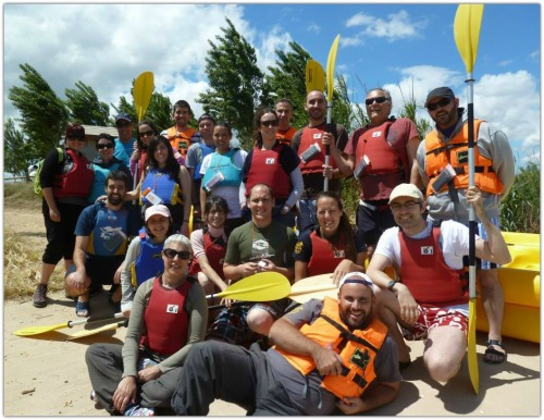 kayak delta del ebre