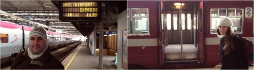 bruselas brujas en tren