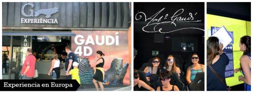 Experiencia Gaudi 4d