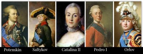 Catalina II y sus amores