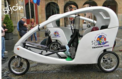 triciclo gijón