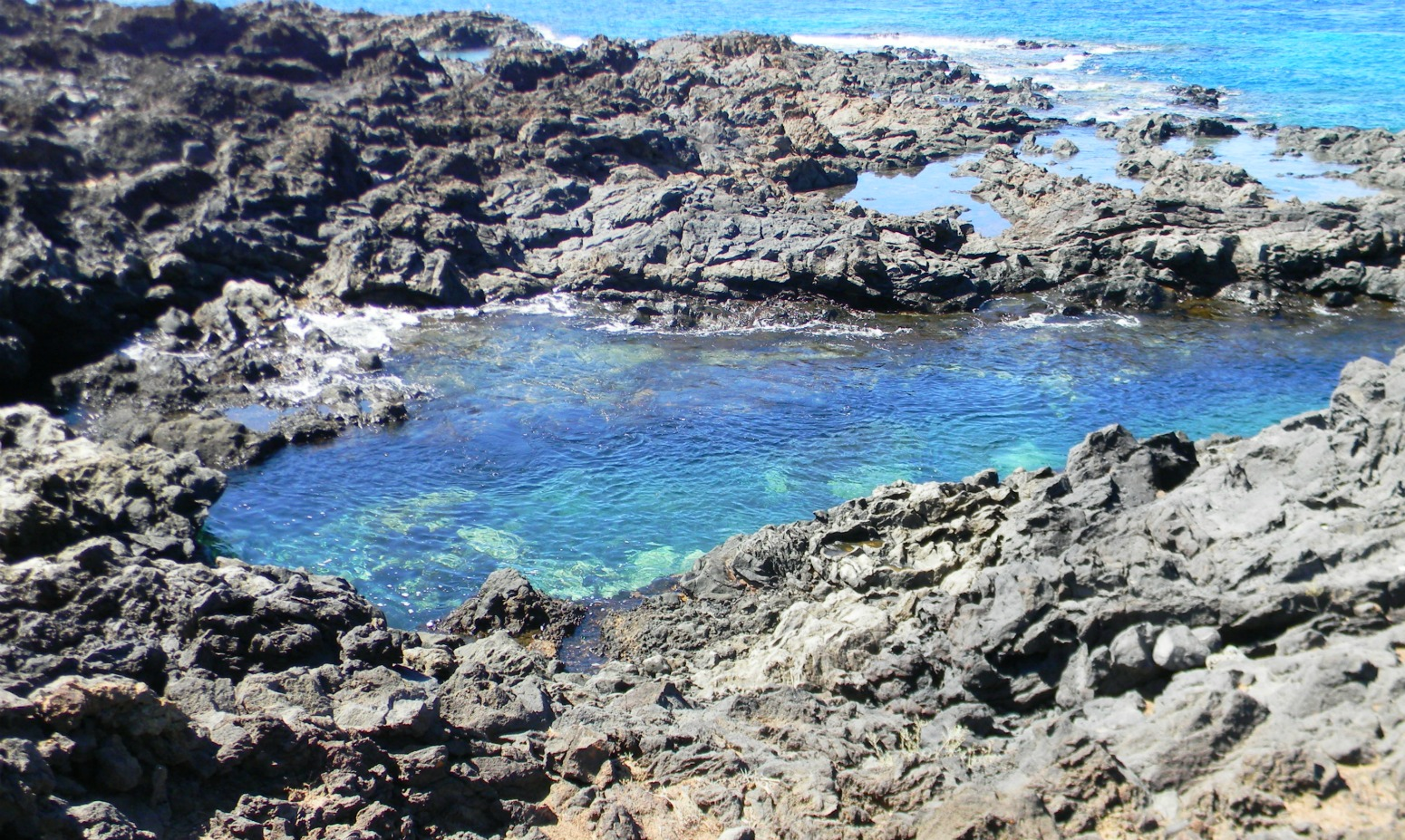 Tenerife a pie etapa 2 palm mar golf del sur for Piscinas naturales tenerife sur