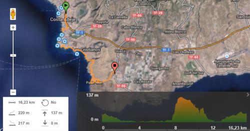 Tenerife a Pie ETAPA 1
