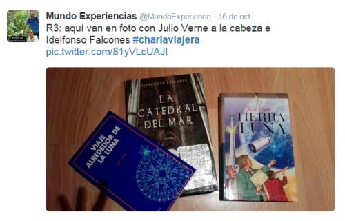 #CharlaViajera