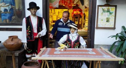 trajes típicos canarios magos