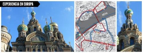 Sant Petersburgo a pie